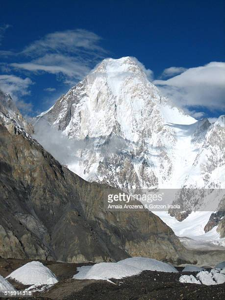 Gasherbrum IV peak in Karakorum range