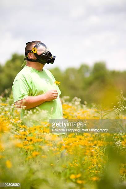 Gasmasks, Sunshine, and Flowers