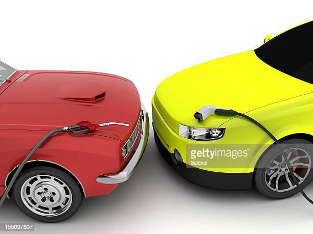 Gasolina o electric car