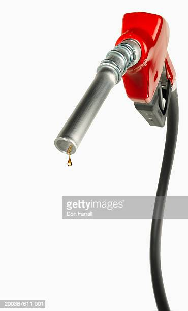 Gasoline pump handle with gas drip (Digital Composite)