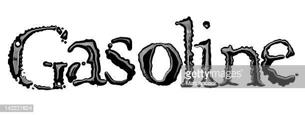 Gasoline written in oil