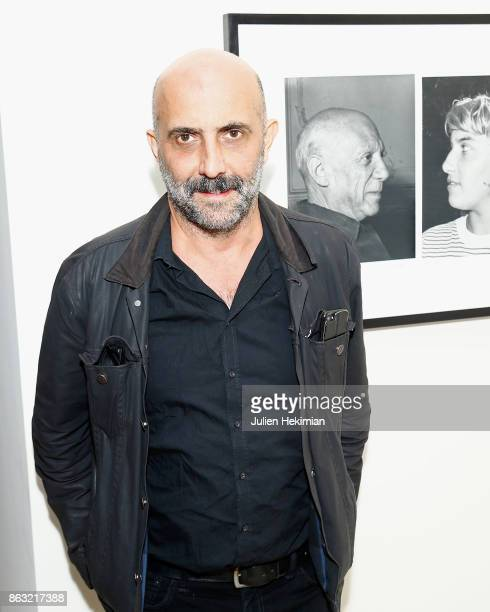Gaspar Noe attends 'Picasso and Maya Father and Daughter' Exhibition Curated By Diana Widmaier Picasso at Gagosian Paris on October 19 2017 in Paris...