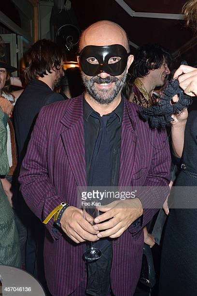 Gaspar Noe attends the Marc Dorcel 35th Anniversary Masked Ball at the Chalet des Iles on October 10 2014 in Paris France