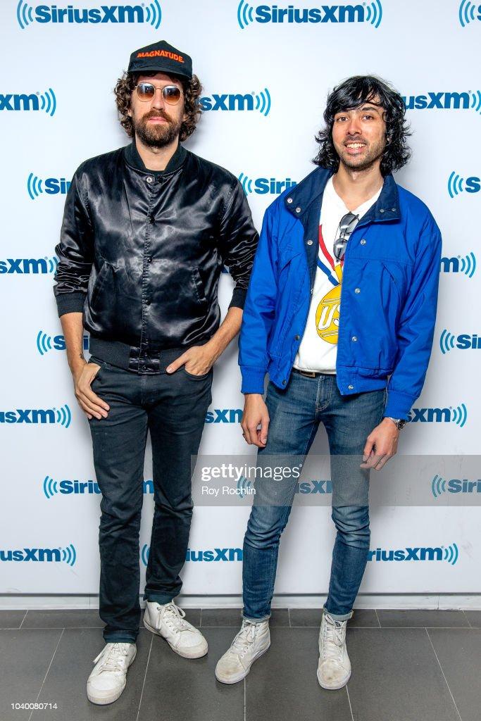 Celebrities Visit SiriusXM - September 25, 2018