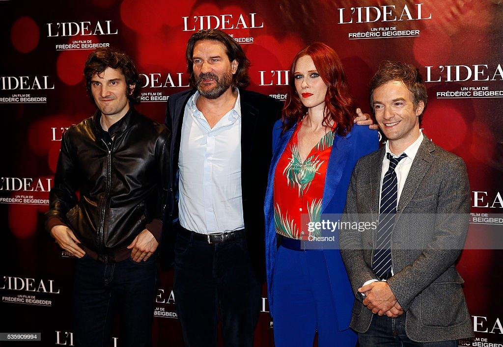 """""""L'Ideal"""" Paris Premiere At  Cinema Le Grand Rex"""