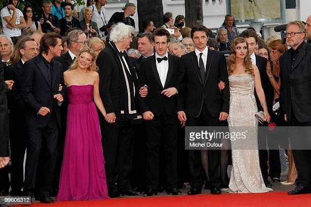 Gaspard Ulliel actress Melanie Thierry, director Bertrand Tavernier and Gregoire Leprince-Ringuet, attend 'The Princess Of Montpensier' Premiere at...