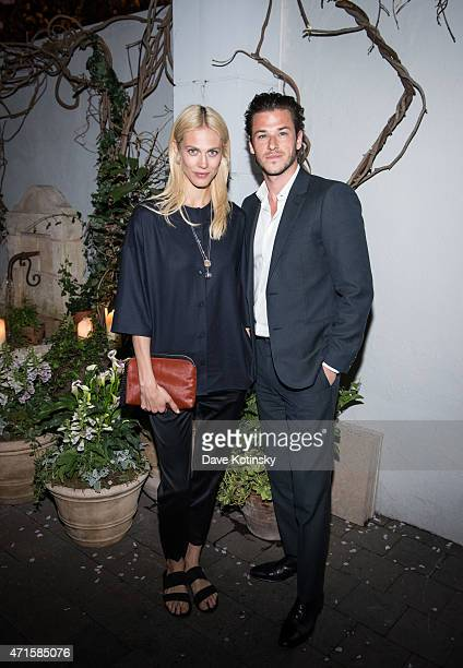 Gaspard Ulliel and Aymeline Valade attends Sony Pictures Classics' screening after party of Saint Laurent hosted by The Cinema Society with Louis XII...