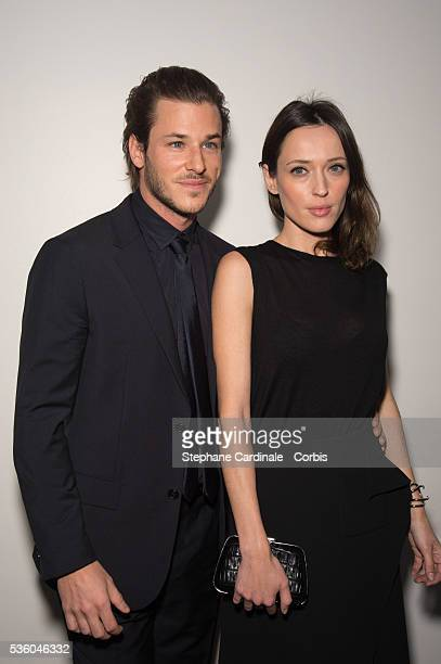 Gaspard Ulliel and Gaelle Pietri attend the The 20th Lumieres Awards Ceremony at Espace Pierre Cardin on February 2 2015 in Paris France