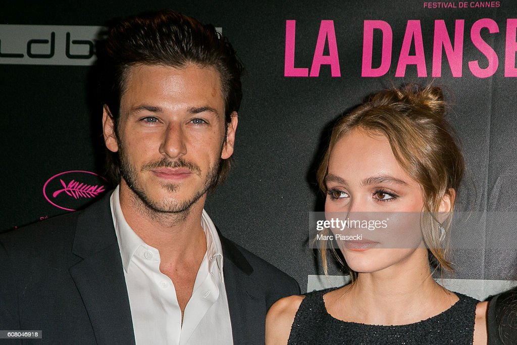 Gaspard Ulliel and Lily-Rose Depp attend the 'La Danseuse' Premiere at Cinema Gaumont Opera on September 19, 2016 in Paris, France.