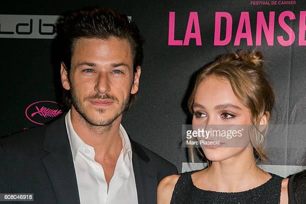 Gaspard Ulliel and LilyRose Depp attend the 'La Danseuse' Premiere at Cinema Gaumont Opera on September 19 2016 in Paris France