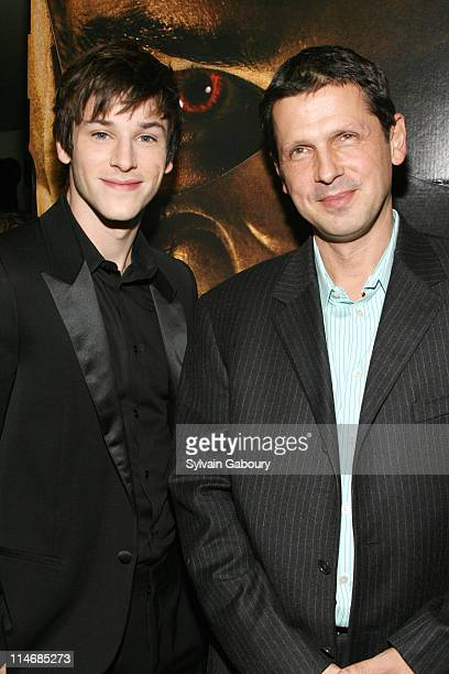 """Gaspard Ulliel and Peter Webber during Metro-Goldwyn-Mayer Pictures' and The Weinstein Company's Premiere of """"Hannibal Rising"""" - Inside Arrivals at..."""