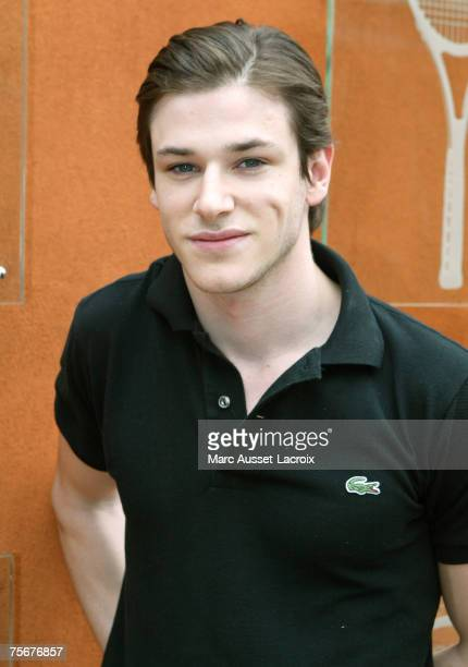 Gaspard Ulliel arrives in the 'Village' the VIP area of the French Open at Roland Garros arena in Paris France on June 8 2007