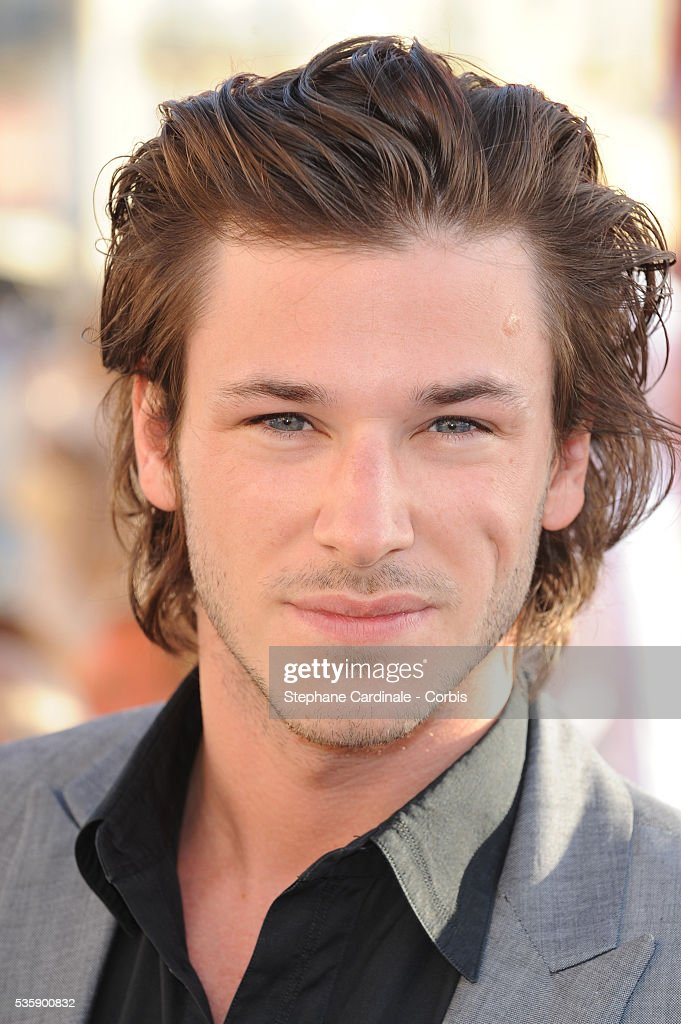 Gaspard Ulliel attends the Chanel Cruise Collection Presentation in Saint Tropez
