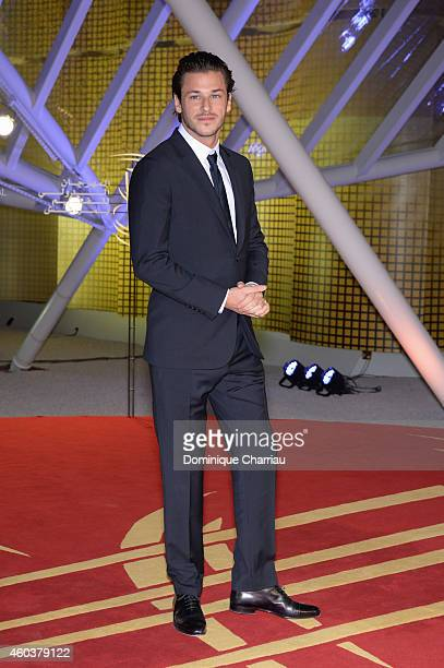 Gaspard Ulliel attends the 'Cinecoles Jury Members' photocall during the 14th Marrakech International Film Festival on December 12 2014 in Marrakech...