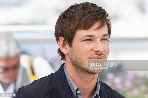 Gaspard Ulliel attends the 'It's Only The End Of The World ' Photocall during the 69th annual Cannes Film Festival at the Palais des Festivals on May...