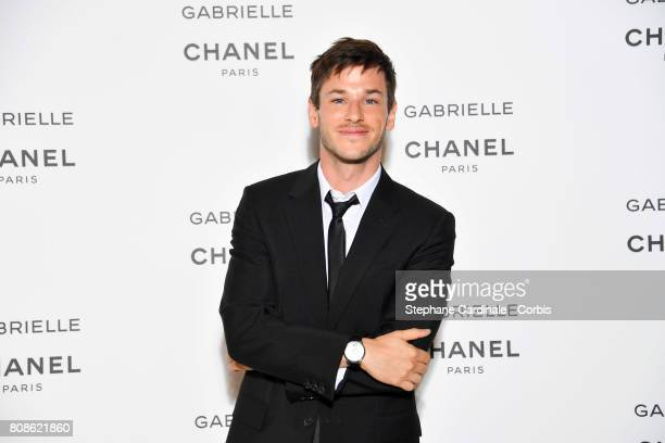 Gaspard Ulliel attends the launch party for Chanel's new perfume Gabrielle as part of Paris Fashion Week on July 4 2017 in Paris France