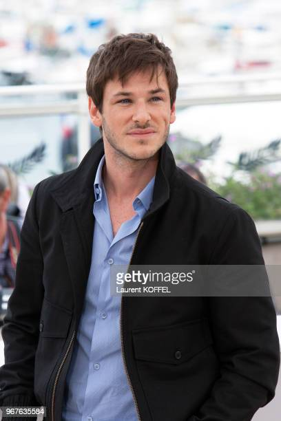 Gaspard Ulliel attends the 'The Dancer ' photocall during the 69th annual Cannes Film Festival at the Palais des Festivals on May 13 2016 in Cannes...