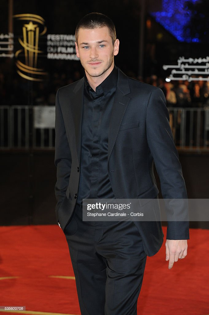 Gaspard Ulliel attends the Tribute to French Cinema during the Marrakech 10th Film Festival.