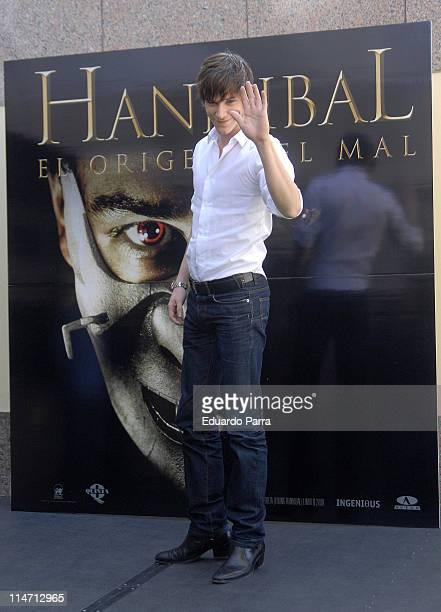 Gaspard Ulliel during Hannibal Rising Madrid Photocall at Villamagna Hotel in Madrid Spain