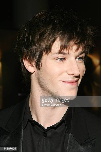 """Gaspard Ulliel during Metro-Goldwyn-Mayer Pictures' and The Weinstein Company's Premiere of """"Hannibal Rising"""" - Inside Arrivals at AMC Loews Lincoln..."""