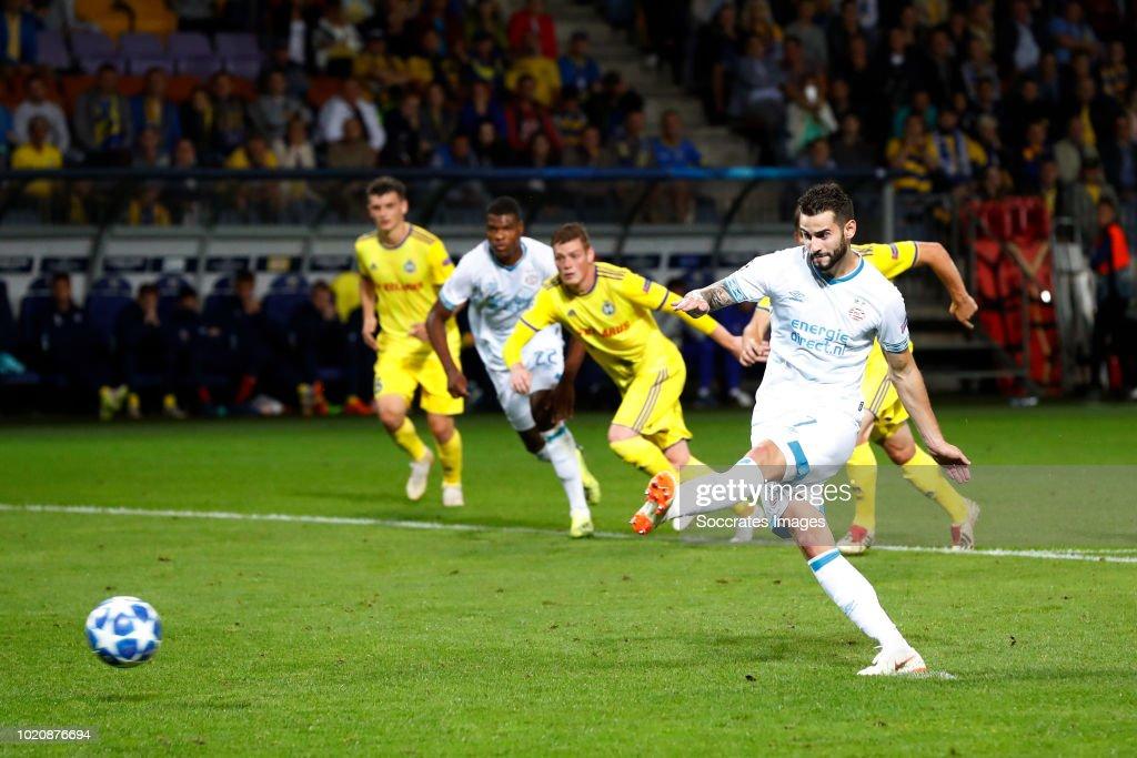 FC BATE Borisov v PSV - UEFA Champions League
