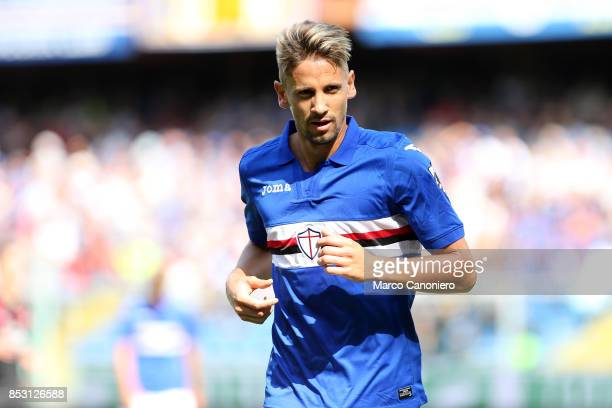 Gaston Ramirez of UC Sampdoria in action during the Serie A football match between Us Sampdoria and Ac Milan Uc Sampdoria wins 20 over Ac Milan