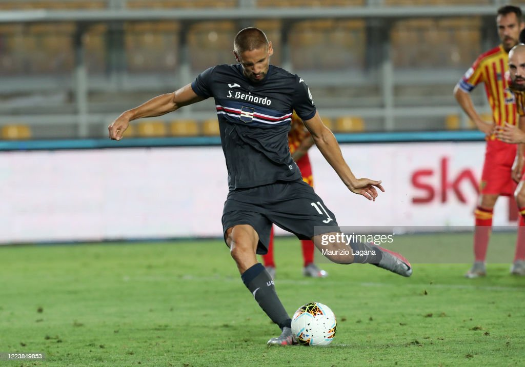US Lecce v UC Sampdoria - Serie A : News Photo