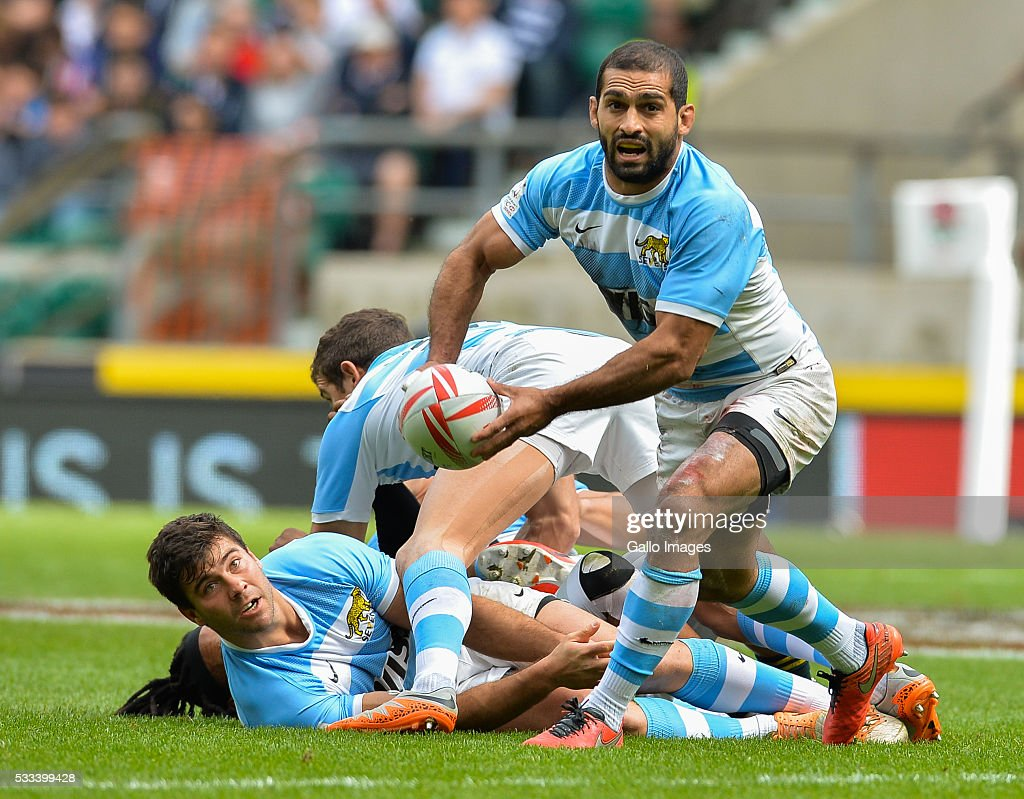HSBC World Rugby Sevens Series: Day 2 : News Photo