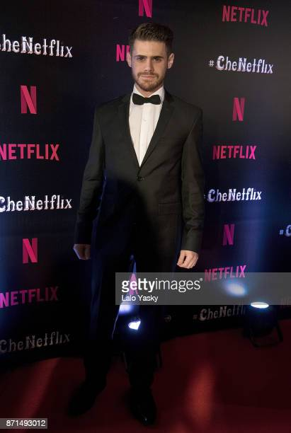 Gaston Sofriti attends the 'Che Netflix' red carpet at the Four Season Hotel on November 7 2017 in Buenos Aires Argentina