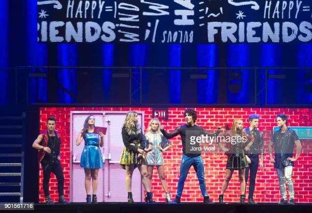 Gaston Vietta marlena Ratner Chiara Parravicini Valentina Zenere Jorge Lopez Ana Jara Ruggero Pasquarelli and Michael Ronda perform on stage during...