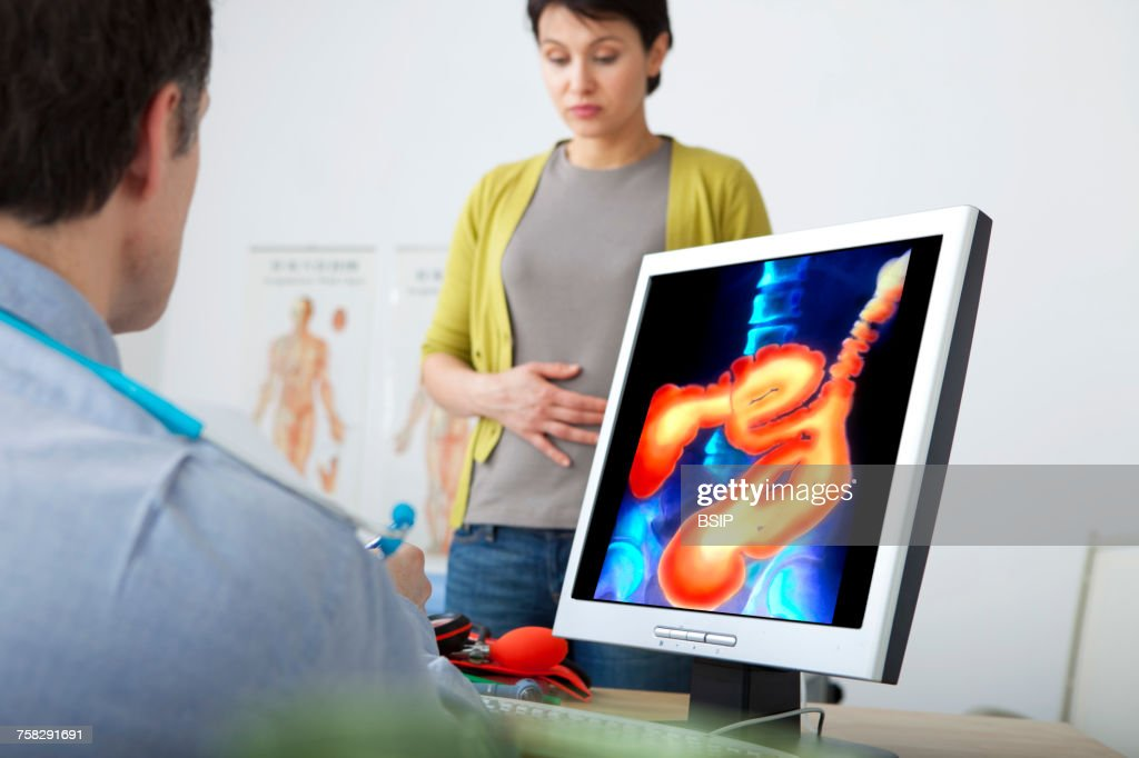 Gastroenterology consultation : Stock Photo