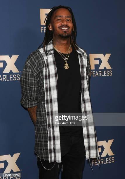 GaTa attends FX Networks' Star Walk Winter Press Tour 2020 at The Langham Huntington, Pasadena on January 09, 2020 in Pasadena, California.
