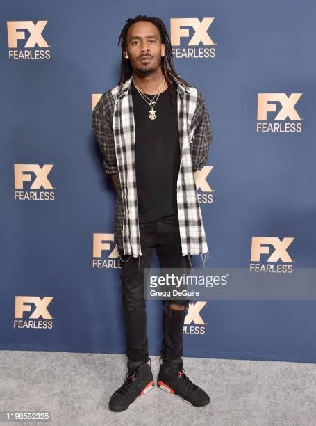 Gata attends the FX Networks' Star Walk Winter Press Tour 2020 at The Langham Huntington, Pasadena on January 09, 2020 in Pasadena, California.
