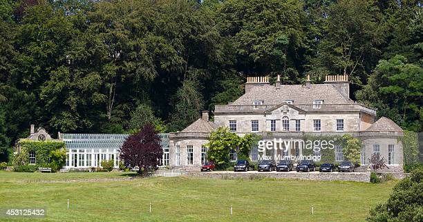 Gatcombe House on the Gatcombe Park Estate on August 3 2014 in Minchinhampton England