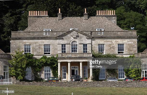 Gatcombe House the home of Princess Anne the Princess Royal sits in the Gloucestershire countryside on the Gatcombe Estate on August 6 2006 in...