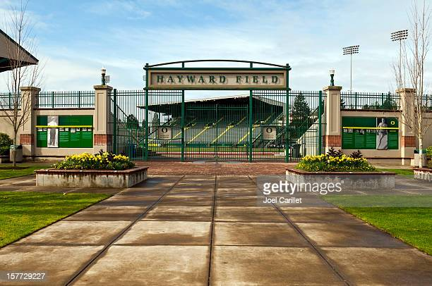 hayward field at university of oregon in eugene - eugene oregon stock pictures, royalty-free photos & images
