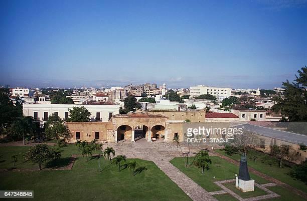 Gate Carlos III entrance to the Ozama Fortress Santo Domingo Dominican Republic 16th century