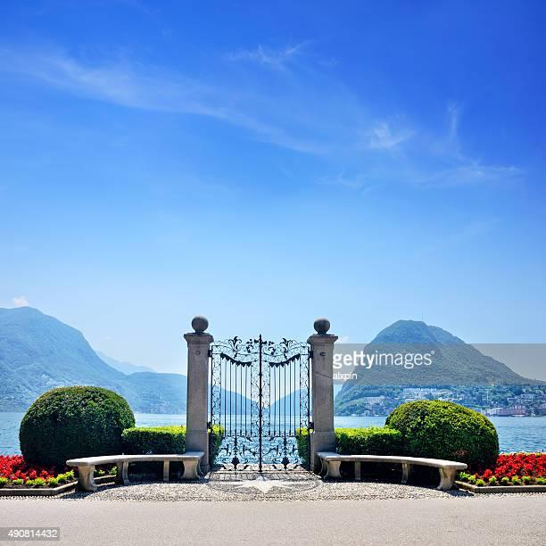 Gate in Lugano