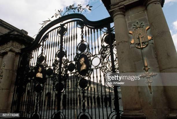 Gate of Chapultepec Castle Museum