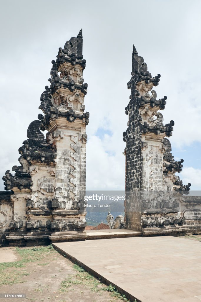 Gate of Paradise in Bali : Stock Photo