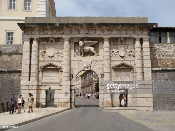 Gate of the city also known as the door of the Mainland is a gateway to the city of Zadar built in Renaissance destination in 1543 by by Michele...
