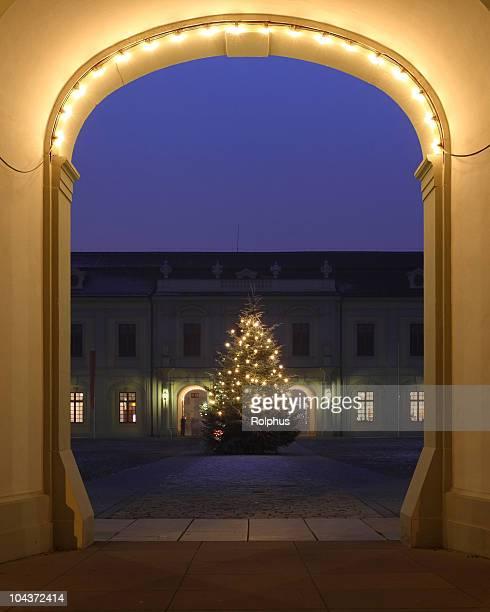 Tor zu Weihnachten Ludwigsburg Palace
