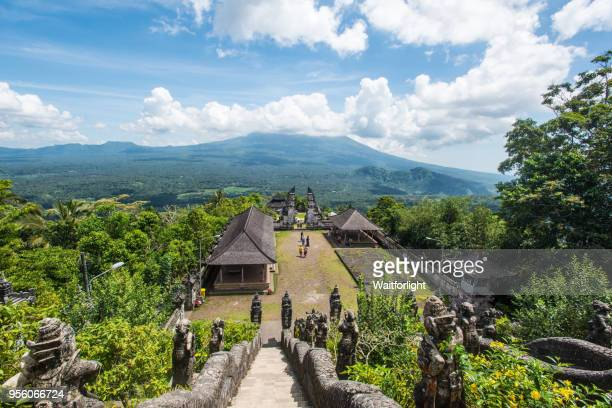 gate to heaven,pura lempuyang temple,bali,indonesia - hinduism stock pictures, royalty-free photos & images