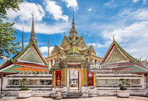 gate to the phra mondop wat po - wat pho stock pictures, royalty-free photos & images
