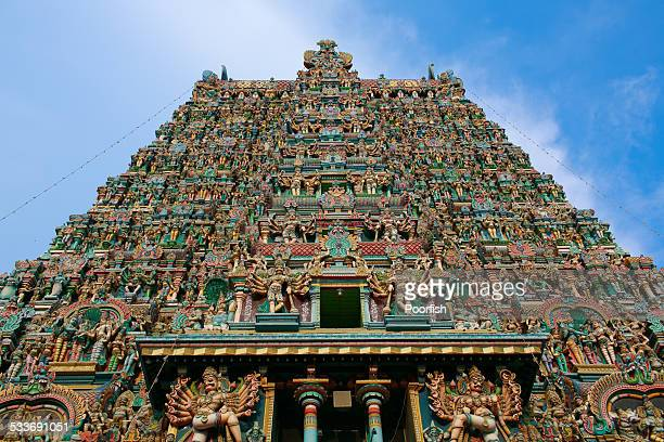 Gate tower of Meenakshi Amman Temple