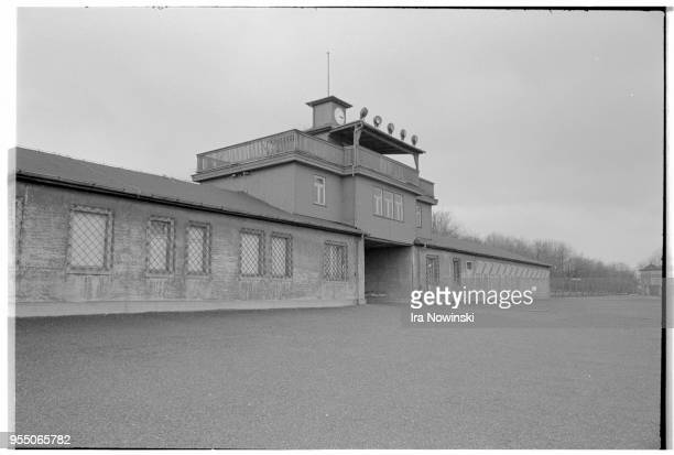 Gatehouse and detention center at buchenwald This gatehouse staffed by the SS was the main entry point for the Buchenwald concentration camp It also...