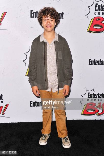 Gaten Matarazzo arrives at Entertainment Weekly's Annual ComicCon Party at Float at Hard Rock Hotel San Diego on July 22 2017 in San Diego California