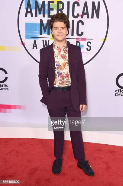 Gaten Matarazzo attends 2017 American Music Awards at Microsoft Theater on November 19 2017 in Los Angeles California