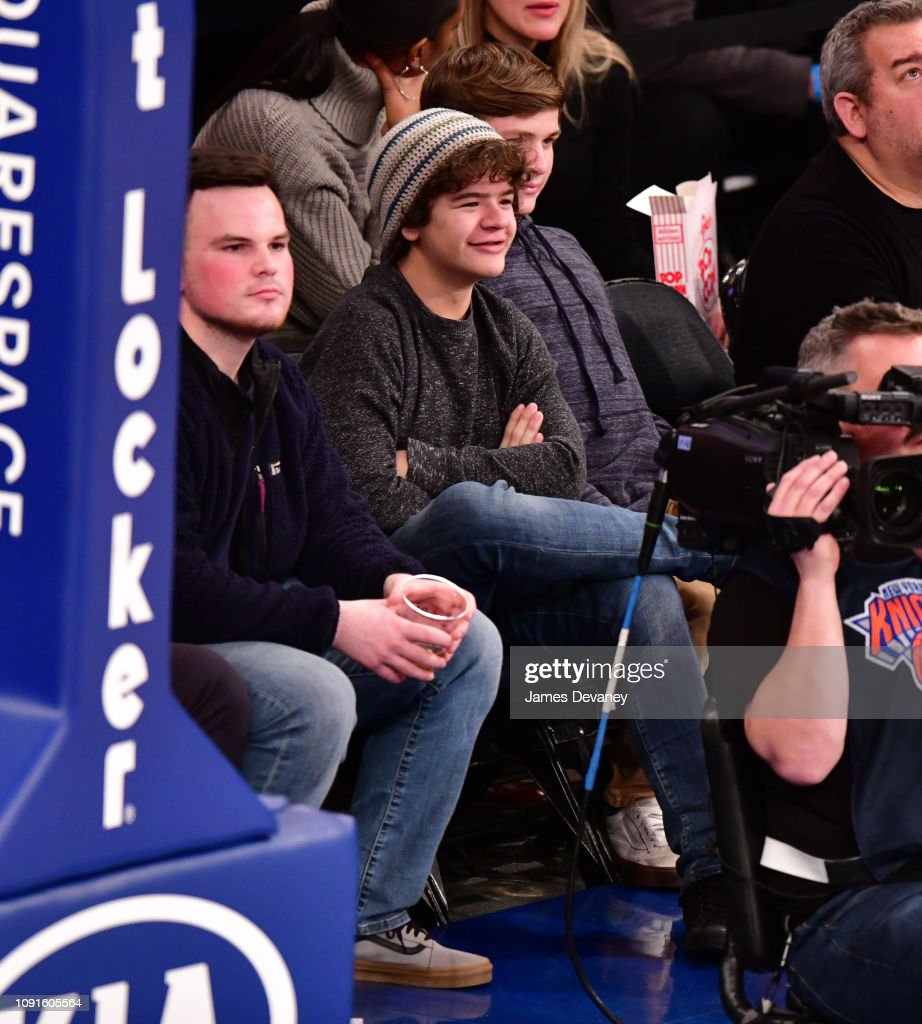 Celebrities Attend Dallas Mavericks v New York Knicks : News Photo