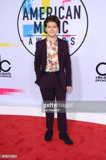Gaten Matarazzo attends the 2017 American Music Awards at Microsoft Theater on November 19 2017 in Los Angeles California